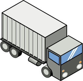 Semi truck clip art clipart 2