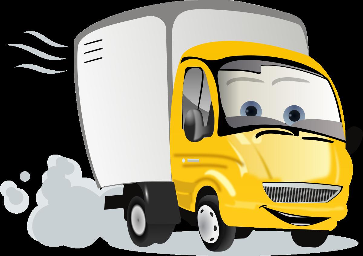 Semi truck clipart clipart image 2