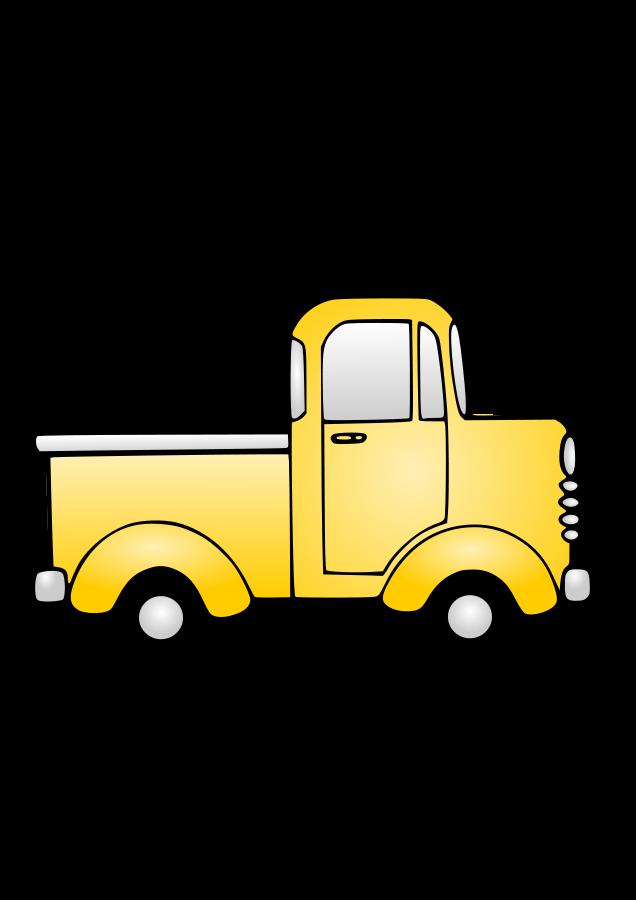 Semi truck clipart clipart image 3