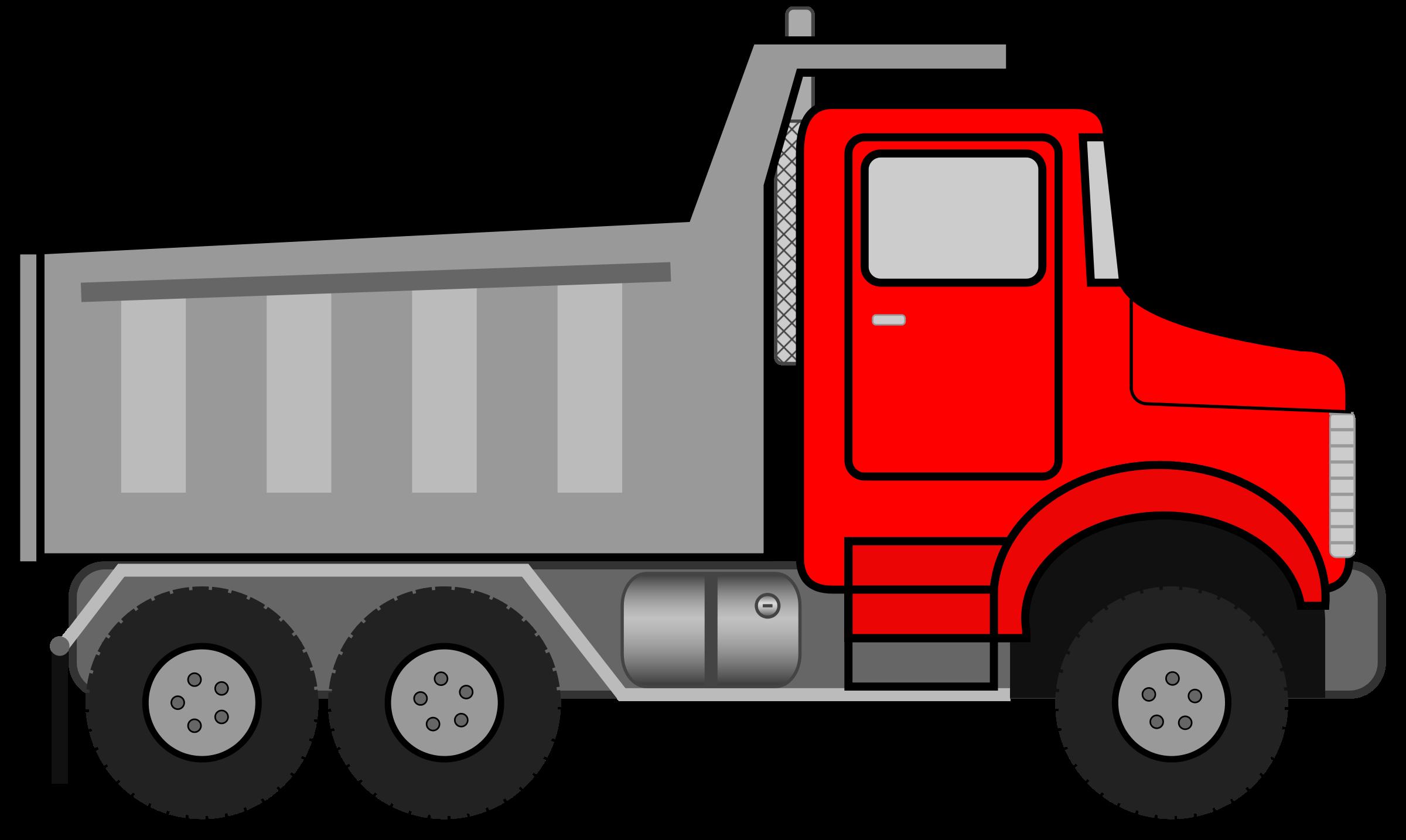 Semi truck clipart clipart image