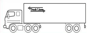 Semi truck free semi trailer truck clipart