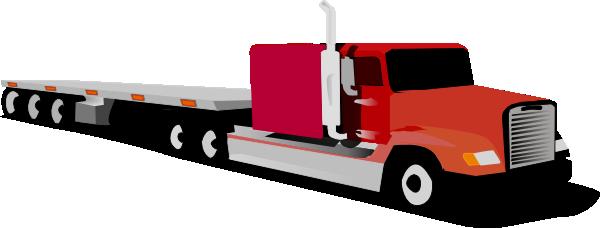 Semi truck free to use  clip art