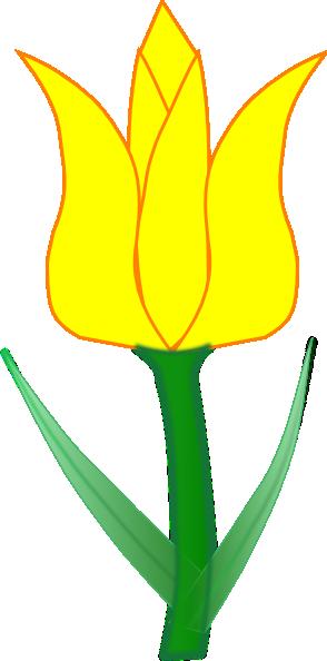 Tulip clip art at clker vector clip art free 2