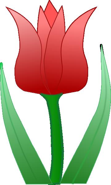Tulip clip art at clker vector clip art free