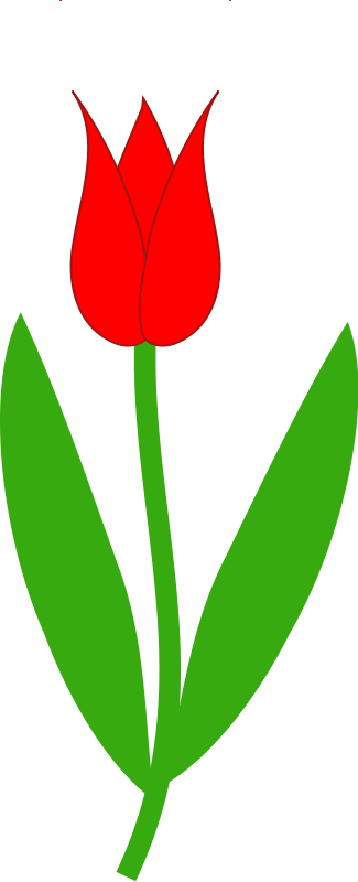 Tulip clip art border free clipart images 3