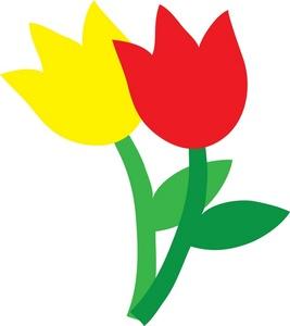 Tulip clip art border free clipart images