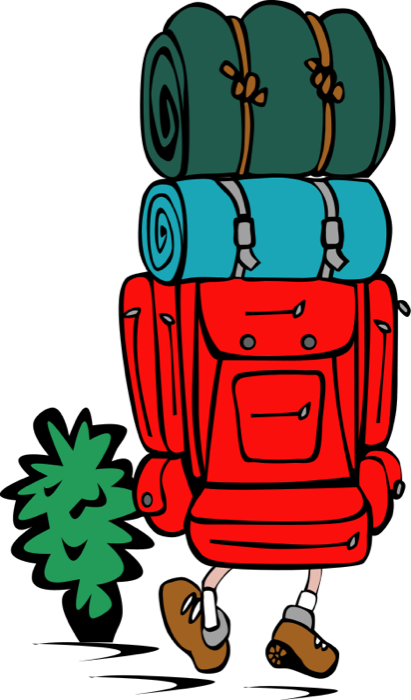 Travel clipart passports luggage and tourism graphics