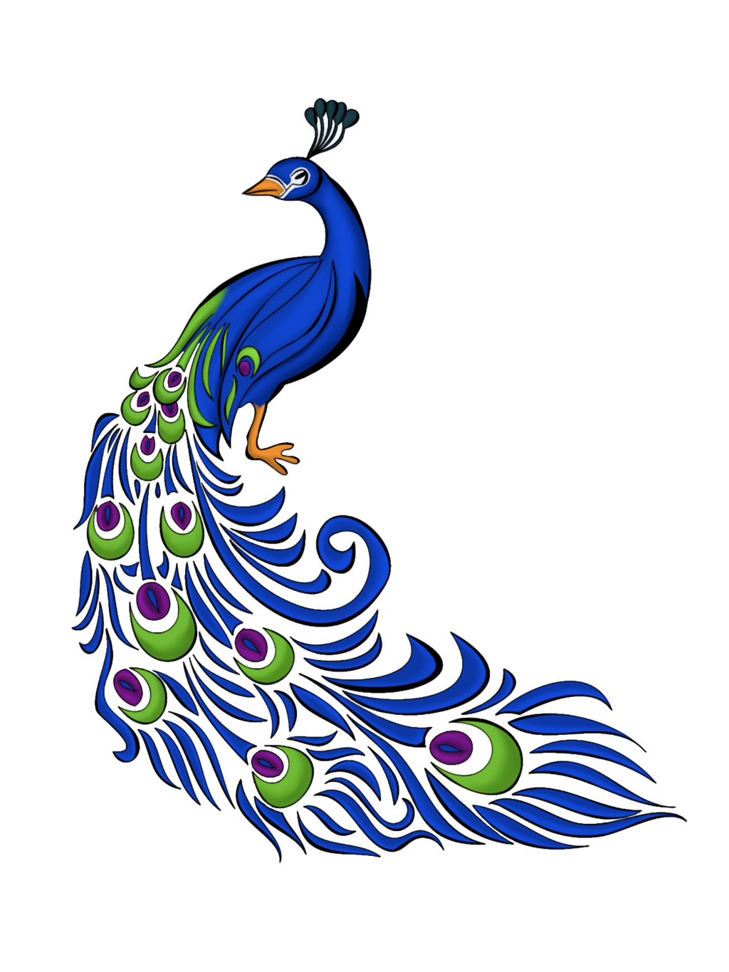 0 images about clip art on clip art peacocks and