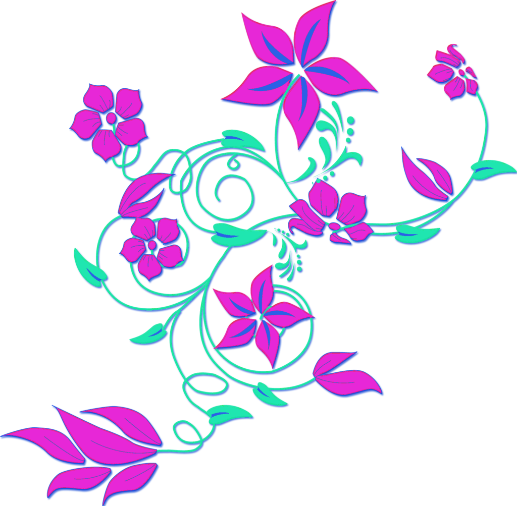 Abstract flower clip art free clipart images 8