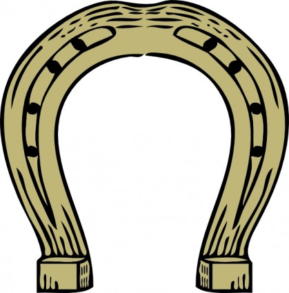 Horseshoe clip art free vector in open office drawing svg svg