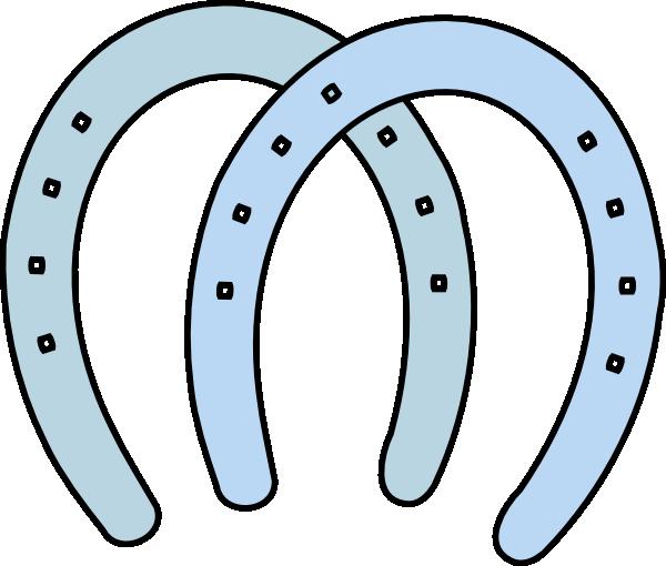 Horseshoe horse shoe clip art clipart clipartix 2