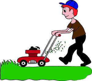 Lawn mower clipart clipart kid