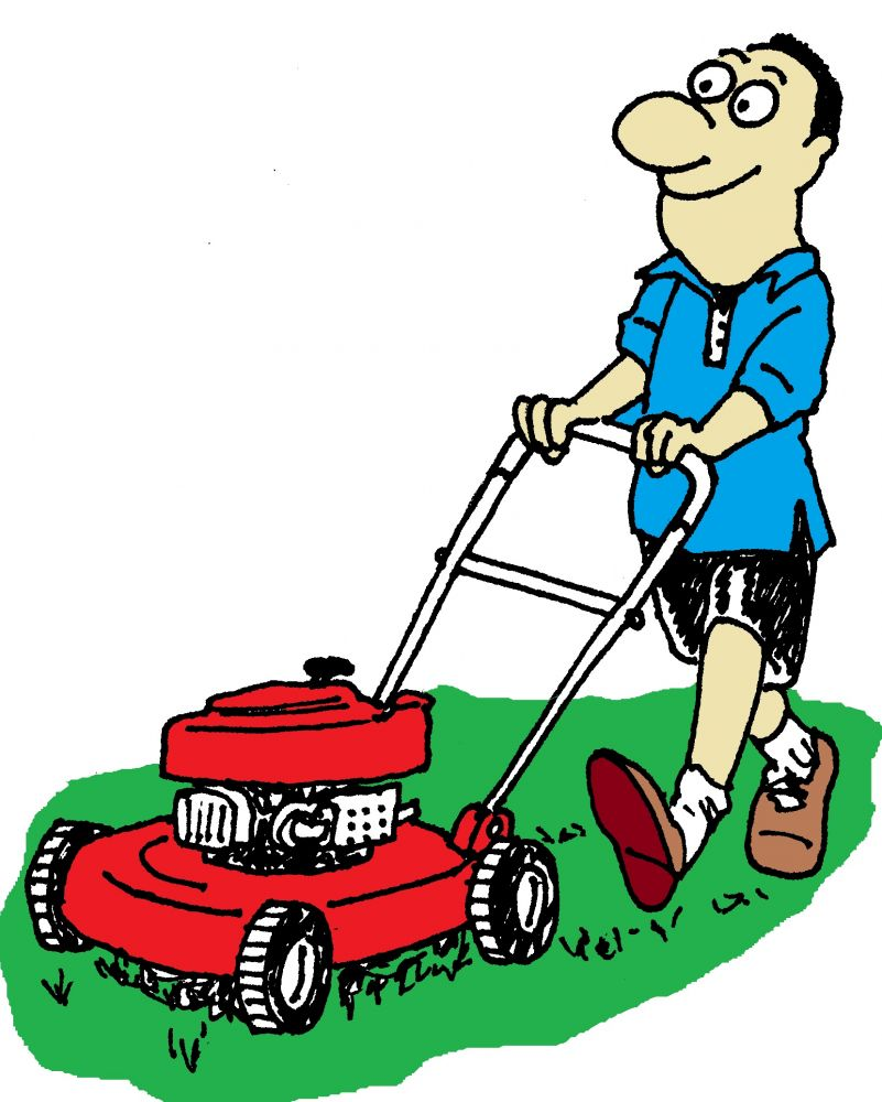 Lawn mower clip art free vector free clipart images 3 clipartix 2 ...
