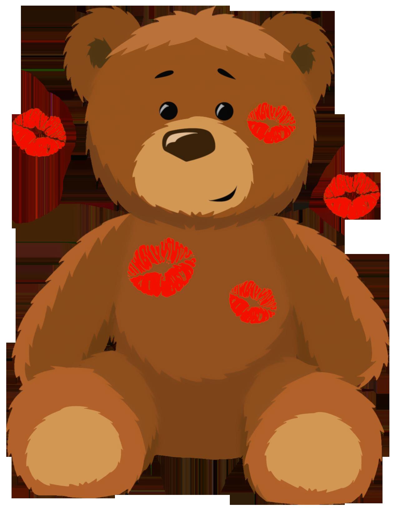Cute bear cute valentine bear clipart clipart kid