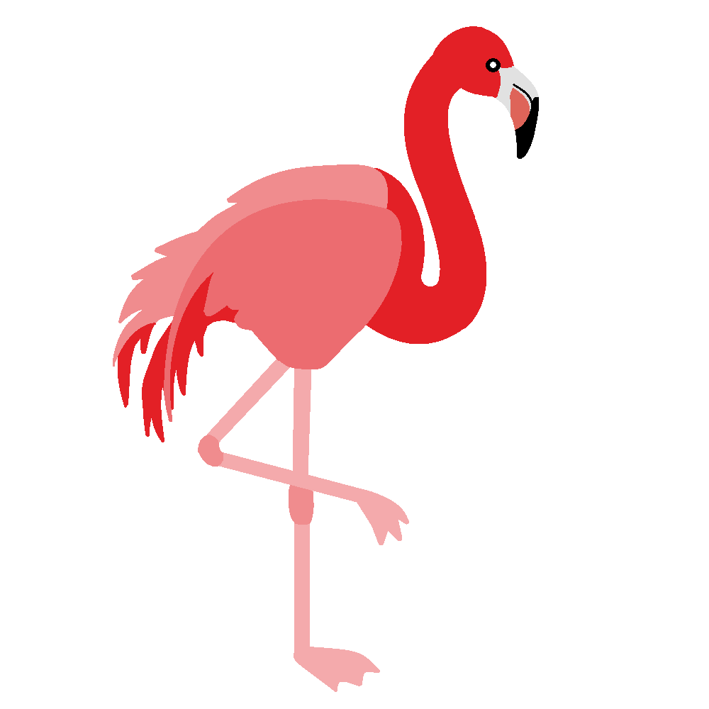 Flamingo clipart 3