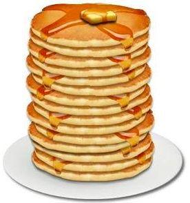 Koala van pancake clip art