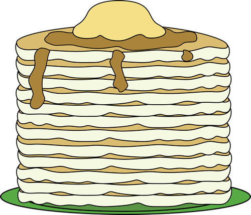 Pancake borders clipart clipart kid