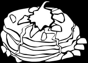 Pancakes clip art at clker vector clip art 2