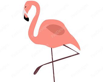Pink flamingo border clipart clipart kid 4