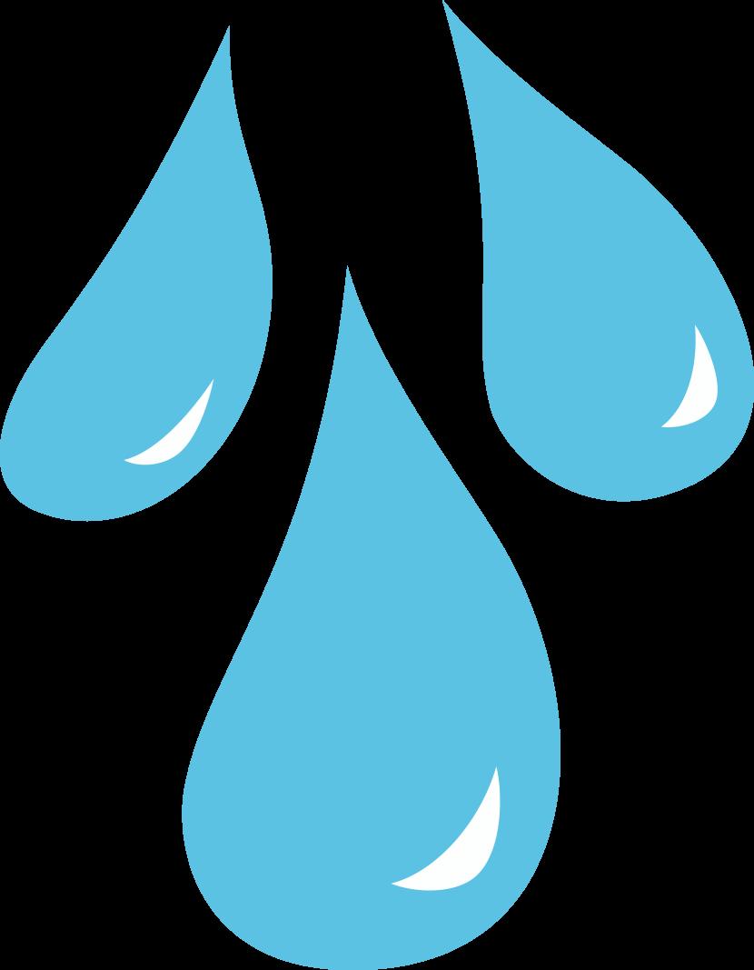 Raindrop clip art 2