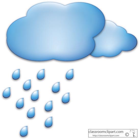 Raindrops clipart