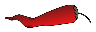 Chili pepper free to use  clipart