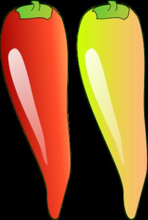 Chili pepper vector clip art