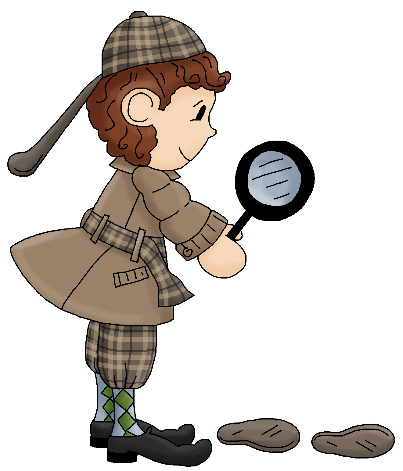 Detective clipart free free clipart images 4