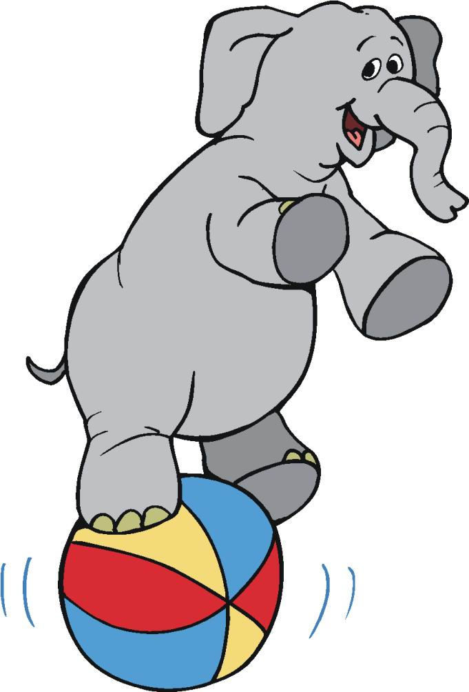 Circus elephant clipart clipart kid 3