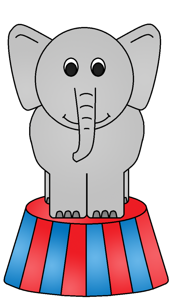 Circus elephant clipart clipart kid 4