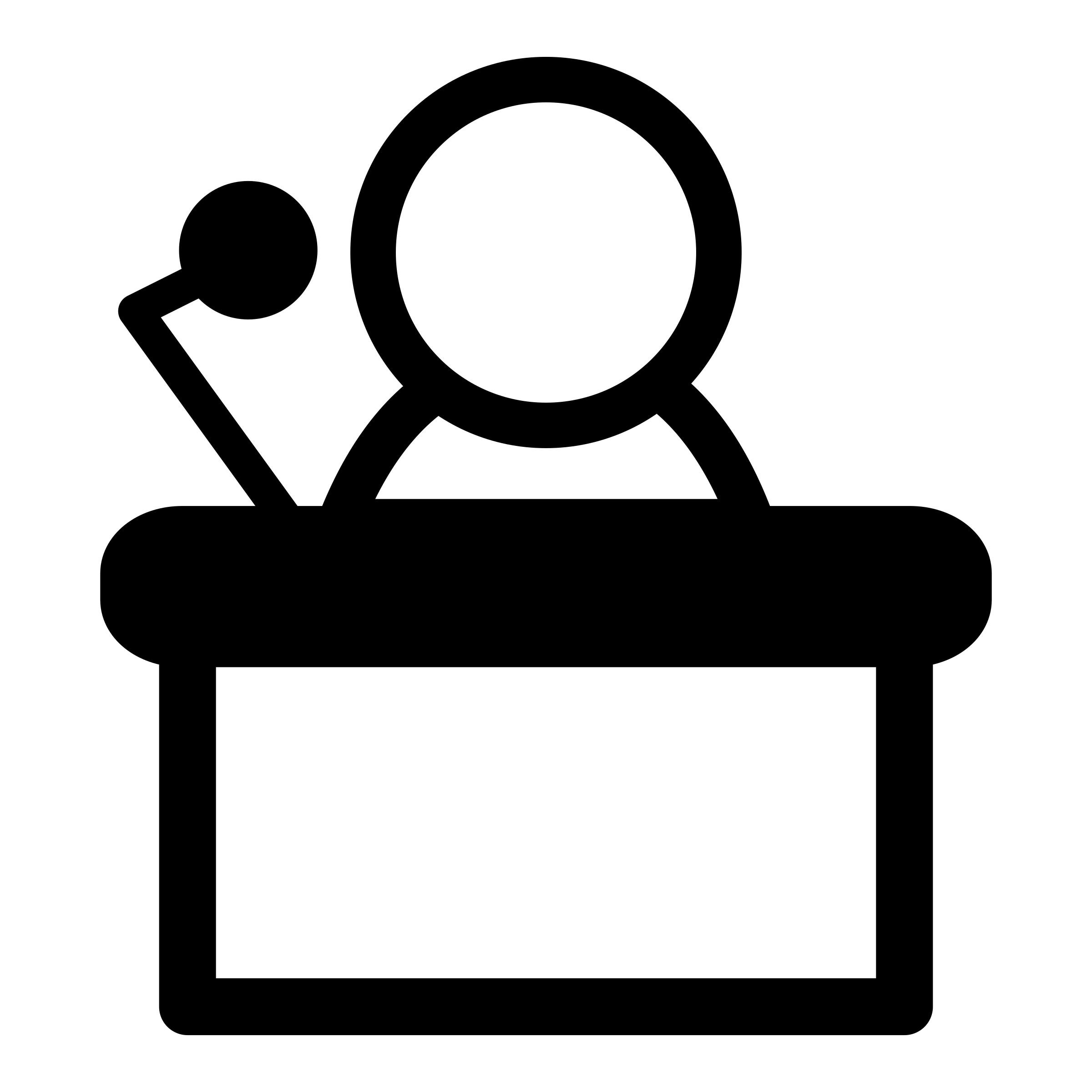 Clipart mono scheme presentation