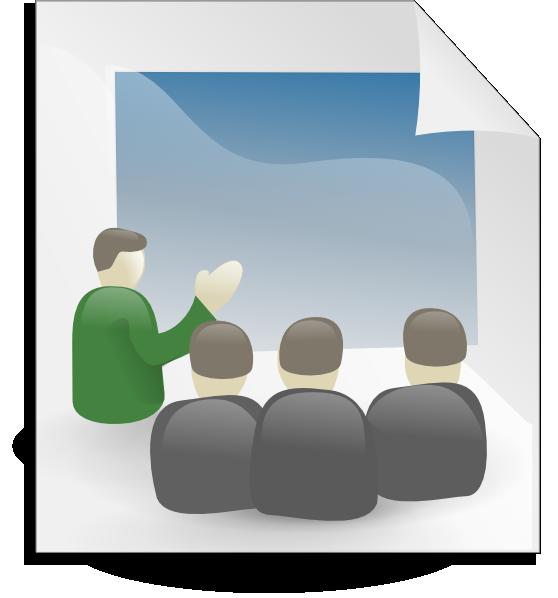 Presentation clip art at clker vector clip art