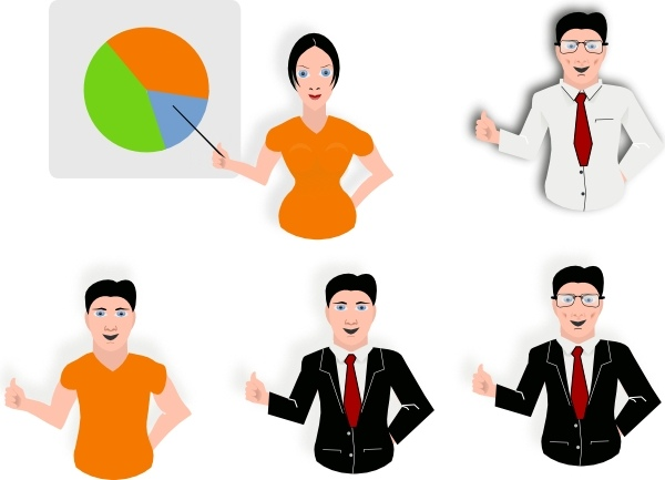 Presentation clip art free vector in open office drawing svg