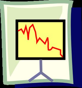 Presentation graph clip art at clker vector clip art