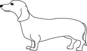 Dachshund weiner dog clipart clipart kid 2