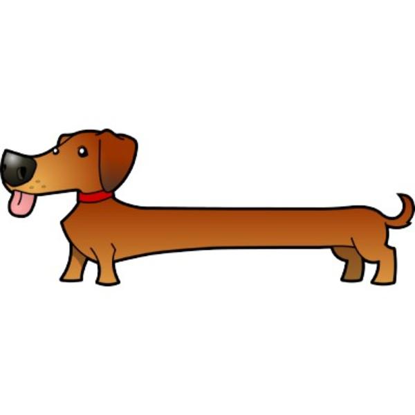 Free dachshund clipart co clipart kid