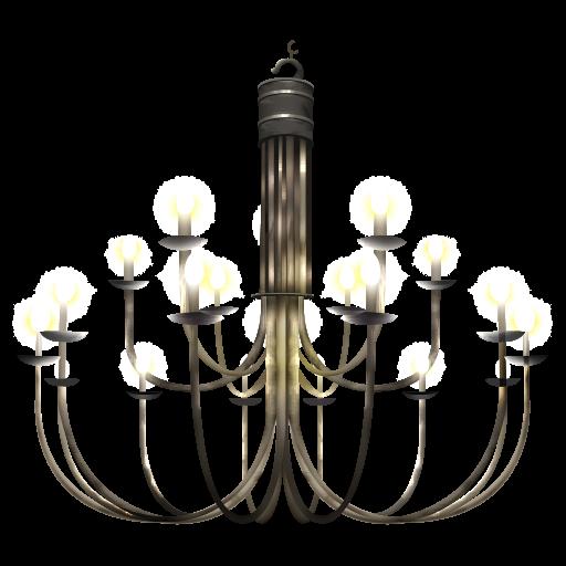 Free vintage chandelier clip art