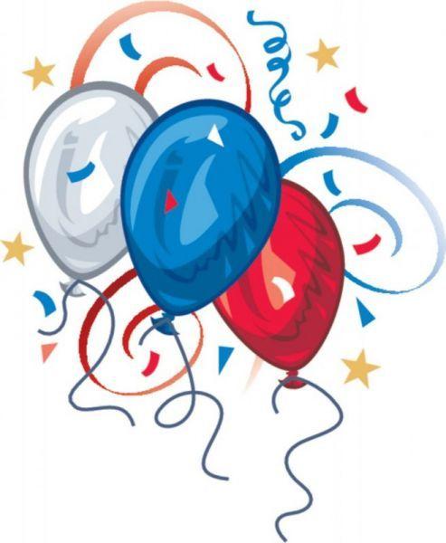 Patriotic balloons clip art clip art patriotic clipart
