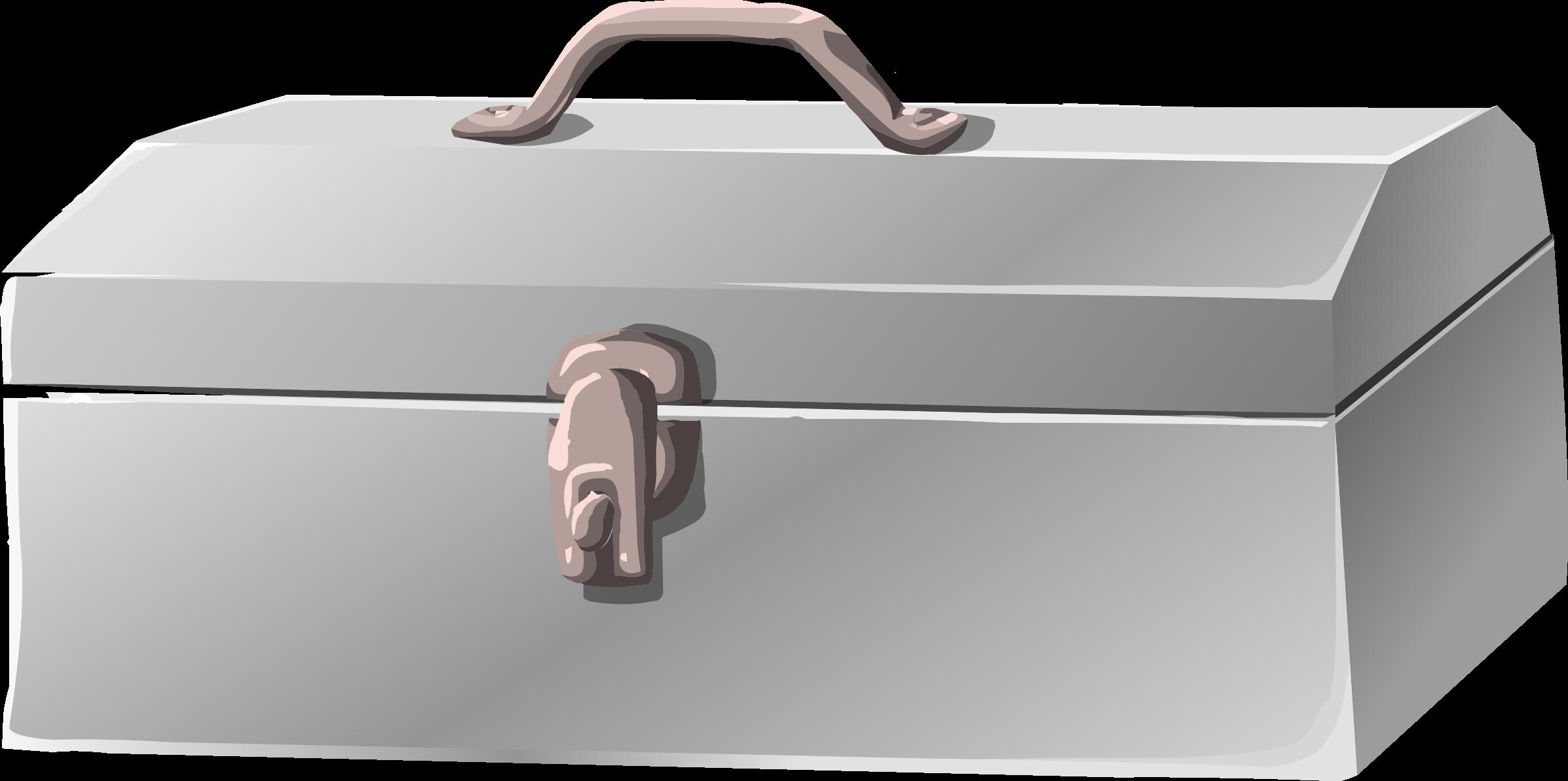 Toolbox clipart misc bag tool chrome