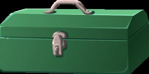 Toolbox green tool clip art at clker vector clip art