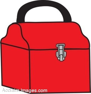 Toolbox red clipart clipart kid