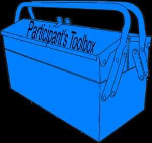 Toolbox tool participant lt blue clip art at clker vector clip