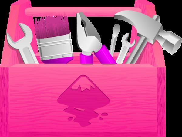 Toolbox tool vector clip art 2