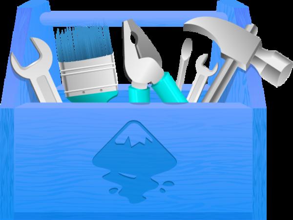 Toolbox tool vector clip art