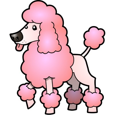 Cartoon poodle clipart clipart kid