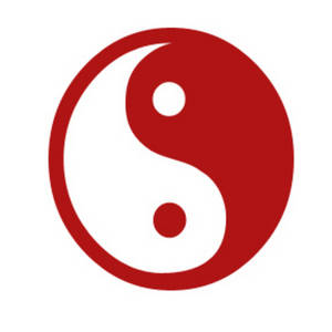 Chinese yin yang clipart