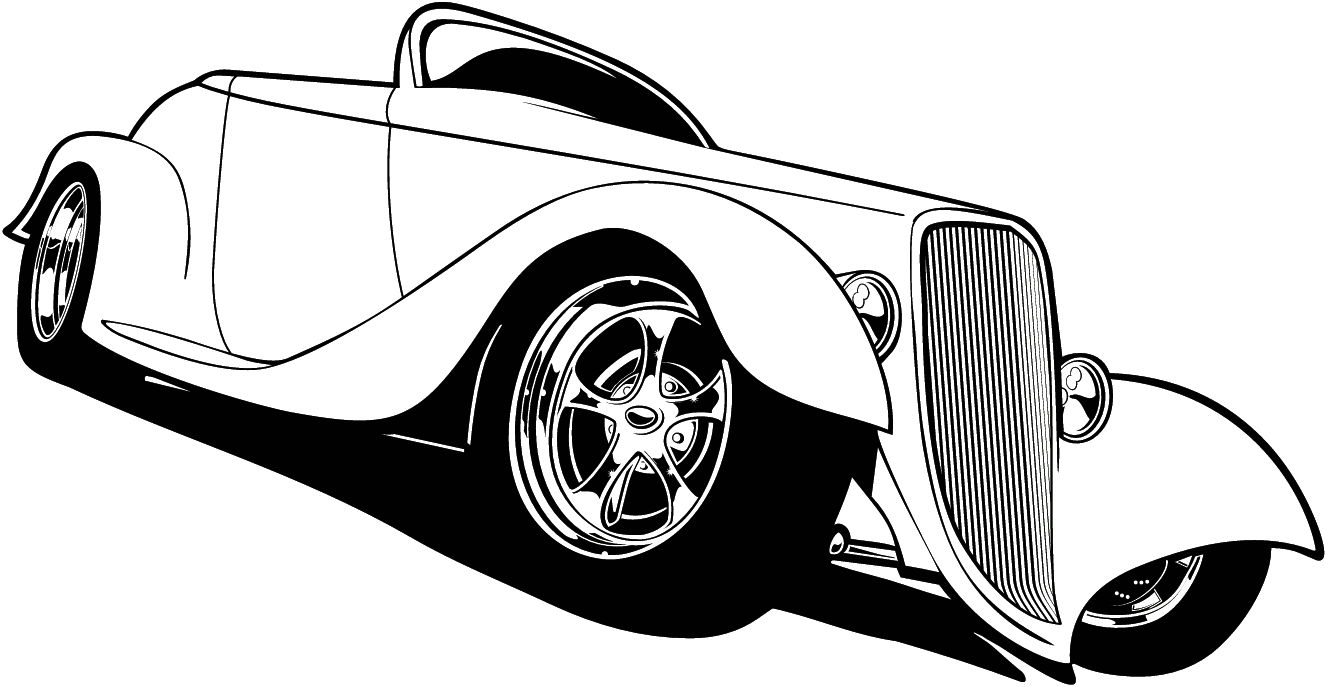 Classic muscle car clipart gram 2