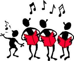 Clipart choir worship clipart