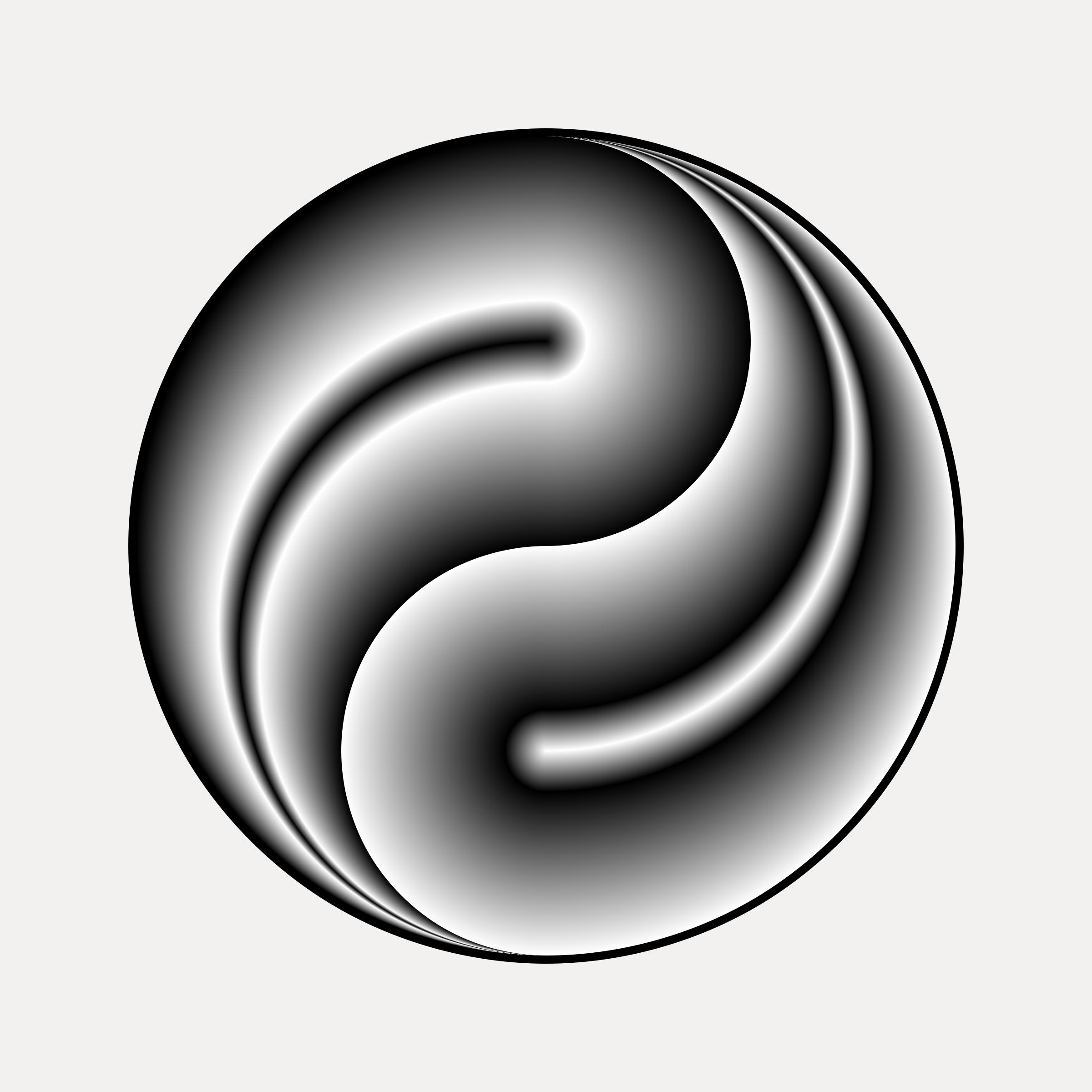 Clipart yin yang 3