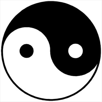 Free yin yang clipart free clipart graphics images and photos